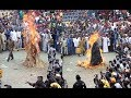 Ogun Masquerade, Danafojura, set on fire at an event (watch video)