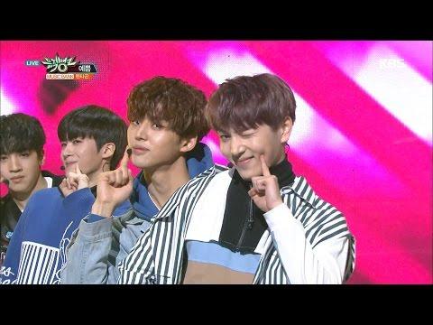 뮤직뱅크 Music Bank - 펜타곤 - 예쁨 (PENTAGON - Pretty Pretty).20170120