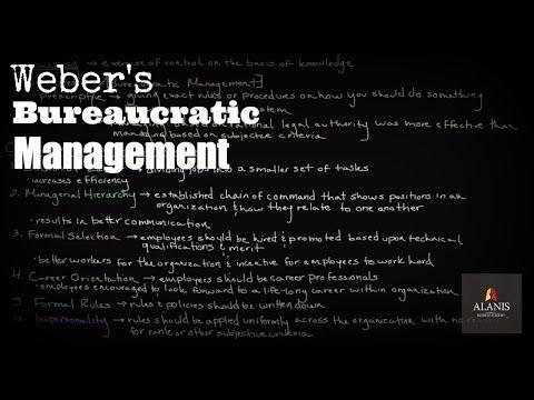 Episode 145: Weber's Bureaucratic Management