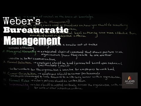 max weber s statements on the seven principles of bureaucratic organizations Weber has observed three types of power in organisations: traditional, charismatic and rational-legal or bureaucratic he has emphasised that bureaucratic type of power is the ideal one features (characteristics) of weber's bureaucracy: weber has given a number of features of bureaucracy.
