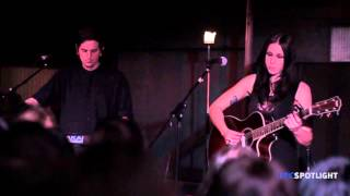 Chelsea Wolfe •ั live • Spinning Centers & Boyfriend (+ interview) - HD
