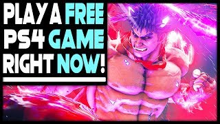 PLAY A FREE PS4 GAME RIGHT NOW + UPDATES ON BIG PS4 GAMES!