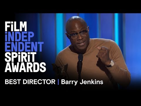BARRY JENKINS wins Best Director for IF BEALE STREET COULD TALK