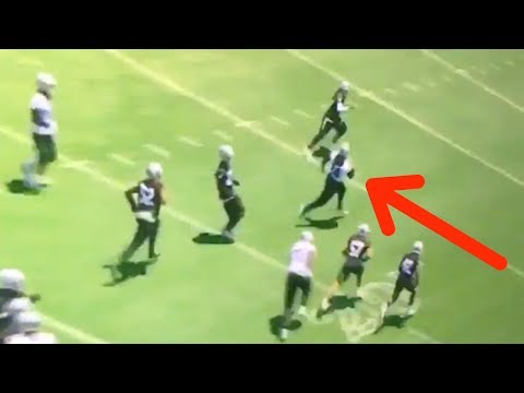 Marshawn Lynch Activates BEAST MODE at Raiders OTAs