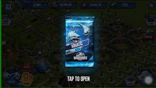 Free Aquatic Pack + Legendary Pack Event!! || Jurassic World - The Game HD