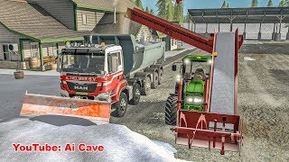 Am I terrible at snow plowing? Farming Simulator 2017 Mods | Snow Removal Equipment