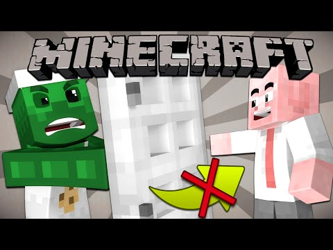 Thumbnail: Why You Can't Open Iron Doors by Hand - Minecraft