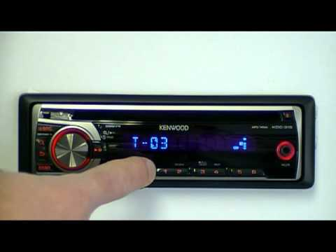Kenwood KDC-315R CD-Receiver with AUX input - YouTube