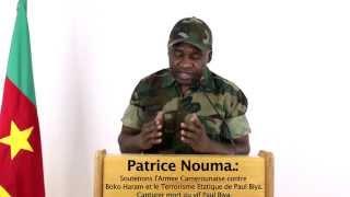 Patrice Nouma, Capturer Paul Biya mort ou vif