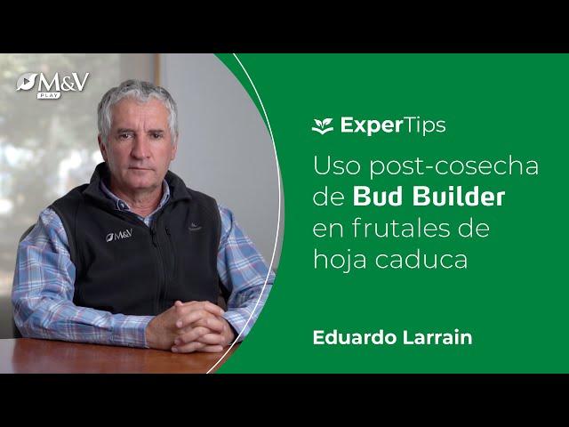 Expertips: Uso post-cosecha de Bud Builder en frutales de hoja caduca