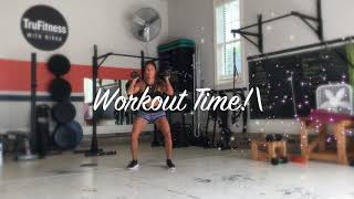 Day 4 warmup and workout