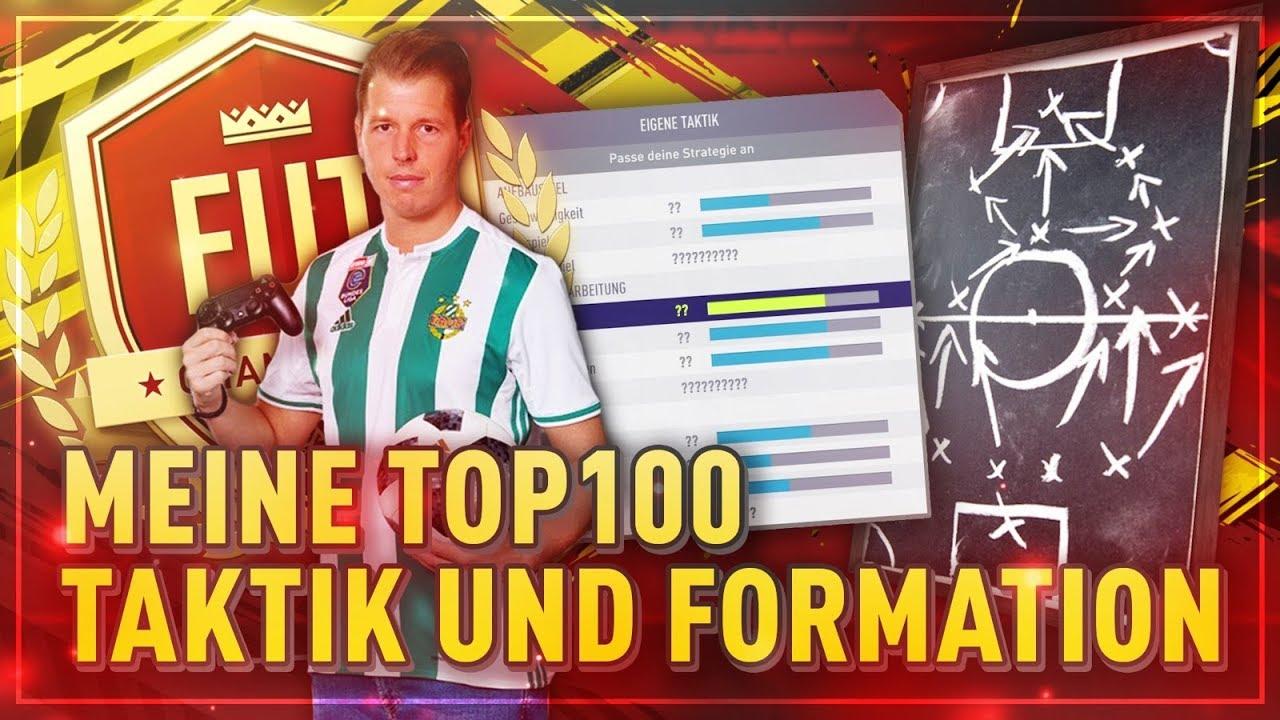 FIFA 19: Meine TOP 100 Aufstellungen, Taktiken und Anweisungen