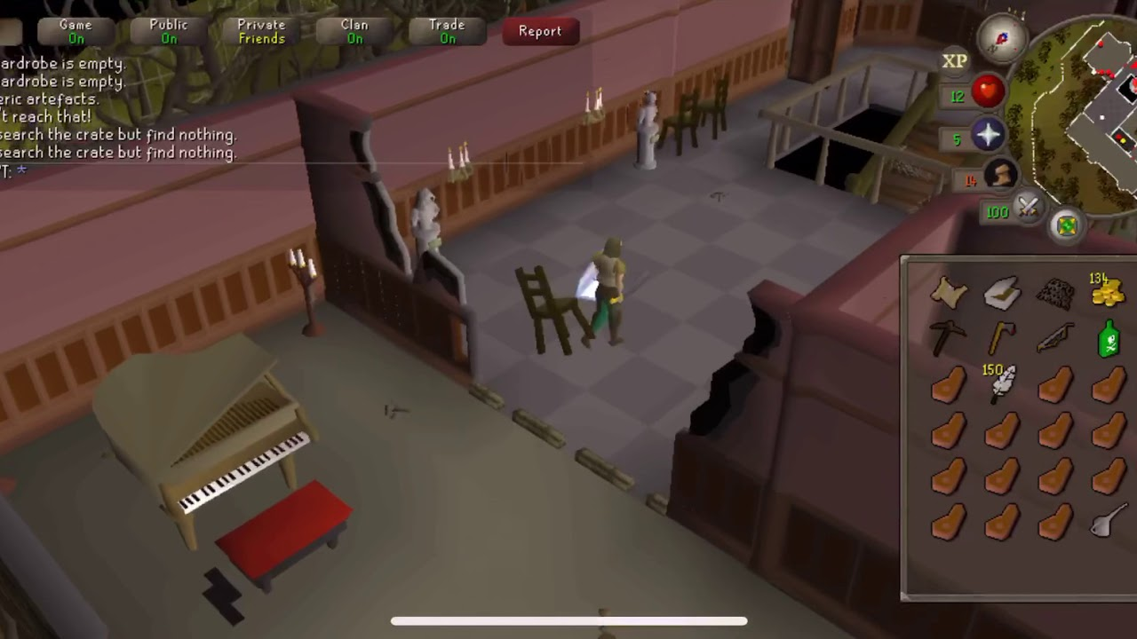 Old School Runescape Mobile 2019 (OSRS iOS) - Gameplay No Commentary - GE  Time