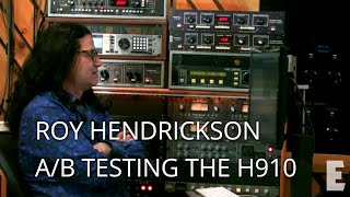 roy hendrickson compares the h910 plug in to the original hardware