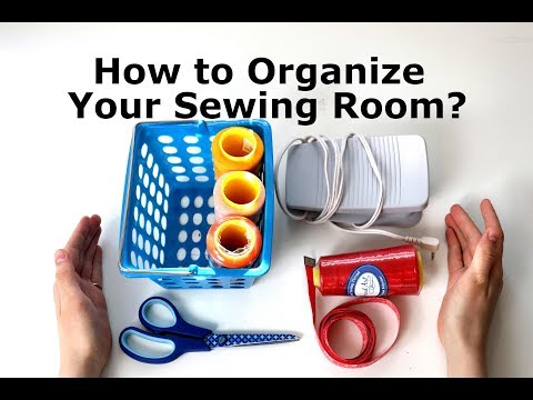 8 Tips for Organizing Your Sewing Room