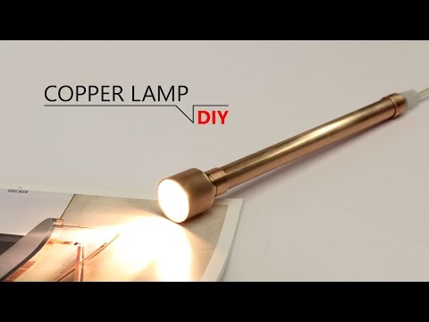 DIY - INDUSTRY COPPER LAMP