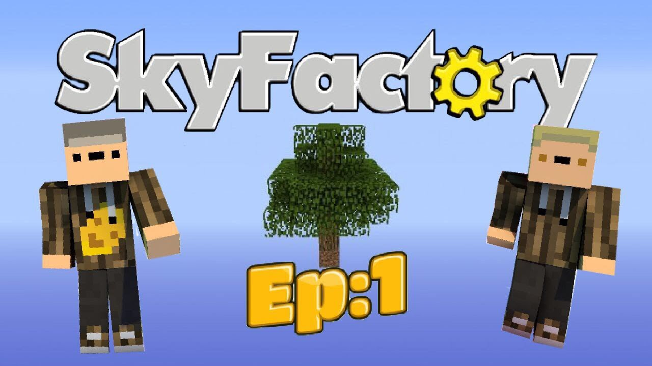 Mcpe Sky Factory Ep:1 Just getting Started #1