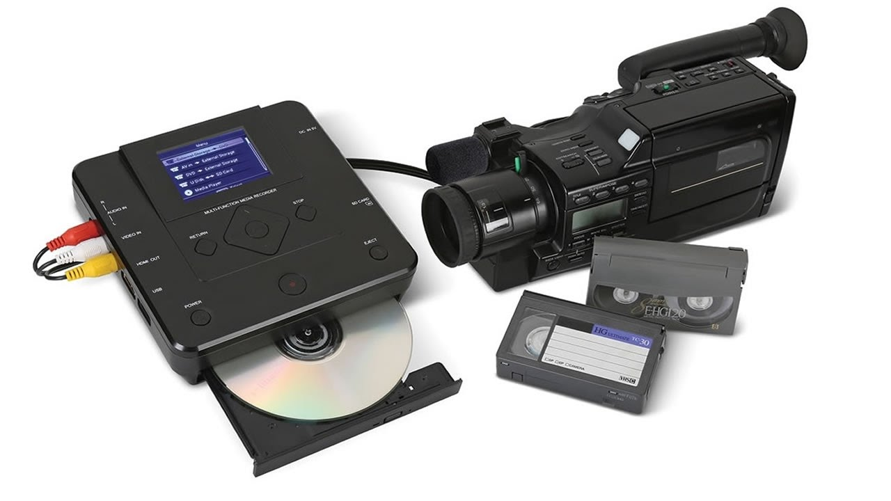 How to Transfer Camcorder Tapes to DVD? Use This Converter! - YouTube
