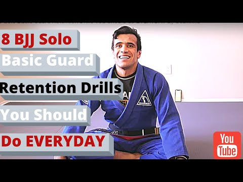 8 BJJ Solo Basic Guard Retention Drills You Should do EVERYDAY by Cobrinha