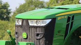 New FIRST John Deere 8370R in action