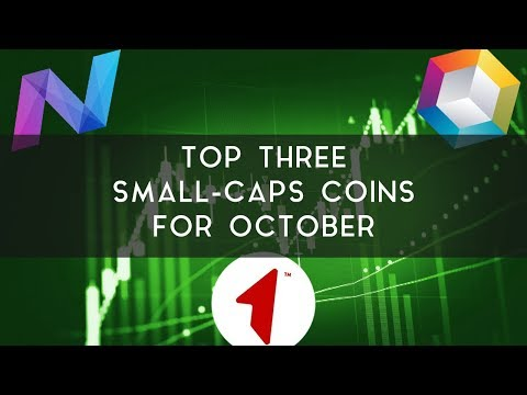 Top 3 Small Caps For October