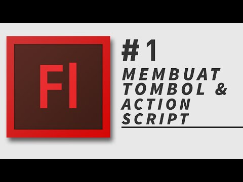 Tutorial Adobe Flash CS 3 || Membuat Tombol Dan Action Script