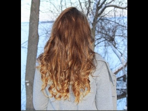 diy sun kissed ombre hair balayage highlights youtube. Black Bedroom Furniture Sets. Home Design Ideas