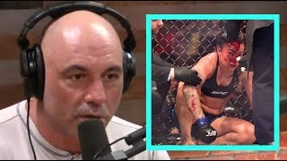 "Joe Rogan on the Raquel Pennington Controversy ""They Should've Stopped the Fight"""