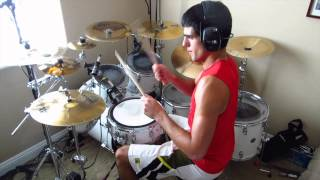 Existence by August Burns Red: Drum Cover By Joeym71