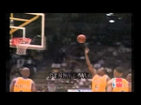 Eddie Jones Fingerroll from the 3pt line (1997) *Greatest layup ever??