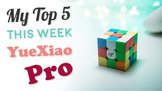 My Top 5 Solves This Week - YueXiao Pro