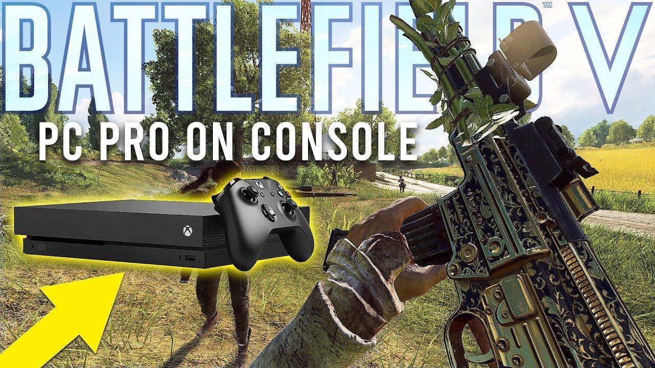 Battlefield PC Pro spielt auf Xbox + video