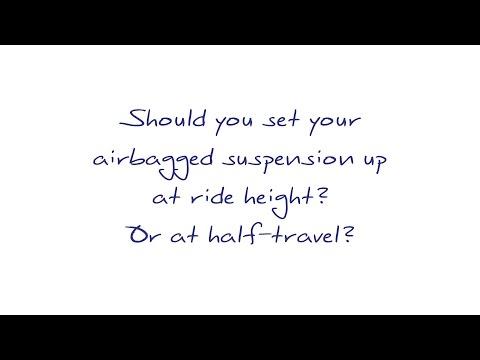 Half Travel Vs. Ride Height