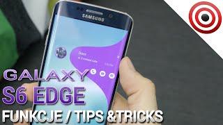 Samsung Galaxy S6 Edge - Funkcje krawędzi - Tips & Tricks - Prezentacja PL