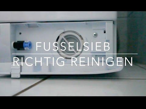 beko waschmaschine flusensieb