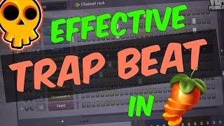 FL Studio Beginners Tutorial 2 | Making Trap Beat ✔