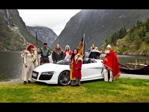 2011 Audi R8 Topless in Norway - Epic Drives Episode 1