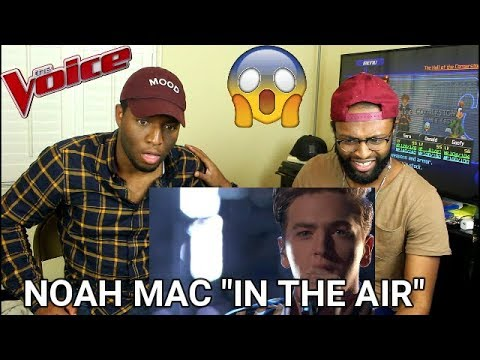 "The Voice 2017 Noah Mac  The Playoffs: ""In the Air Tonight"" REACTION"