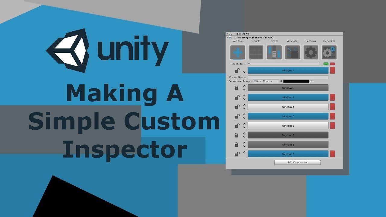 Unity 5 Creating A Simple Custom Inspector