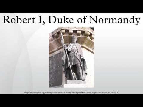 Robert I, Duke of Normandy