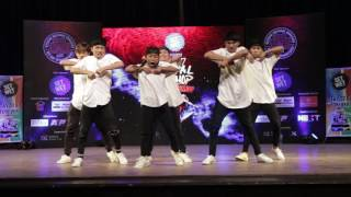 Awesome Dance by Team NHC @ Nepal Hip Hop Dance Championship 2017 | HHI | HHIN | Moin Uddin Show