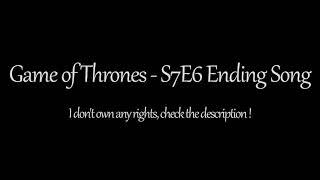 Game of Thrones: Season 7 Episode 6 Soundtrack (1 Hour) - Ice Dragon