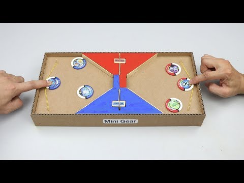 How to make Pokemon Shooter from Cardboard