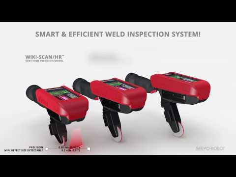 WiKi SCAN™ - Family of Handheld Wireless Weld Inspection Systems