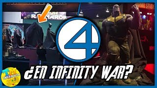 ¿CONFIRMAN 4 FANTÁSTICOS EN INFINITY WAR? | #D23Expo2017