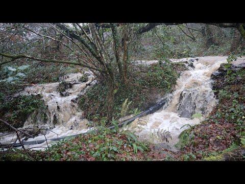 Hydro Electric Intake Dam Flooding