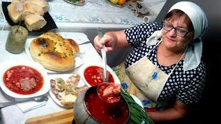 Борщ как из печи! Бабушкины рецепты - вкус детства!