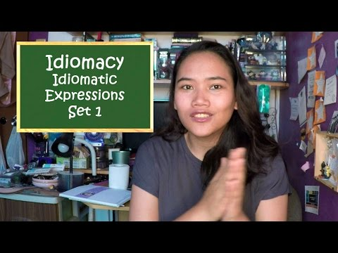 Idiomacy - Idiomatic Expressions - Set 1 - Civil Service Review