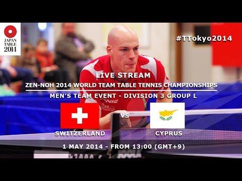 #TTokyo2014: Switzerland - Cyprus