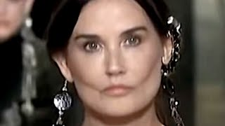 Demi Moore Looks Completely Unrecognizable With Her New Look